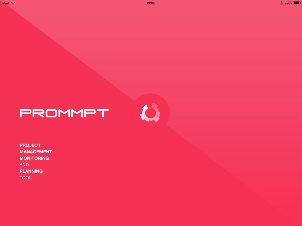 Prommpt App Splash Screen